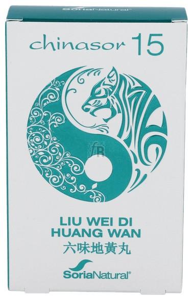 Chinasor 15 Liu Wei Di Huang Wan 30 Comp. - Soria Natural