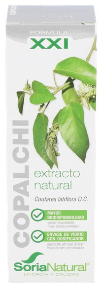 Soria Natural Ext.Copalchi S/Al 50Ml - Farmacia Ribera