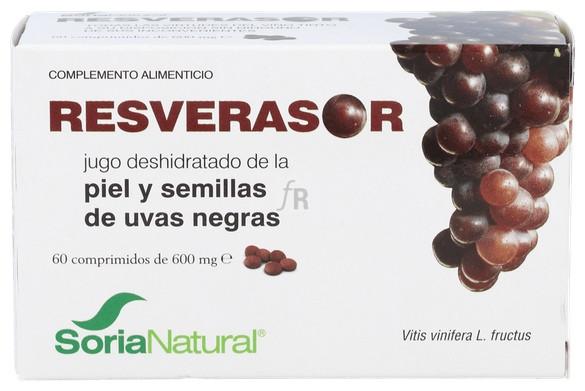 Soria Natural Resverasor 60 Comprimidos - Farmacia Ribera