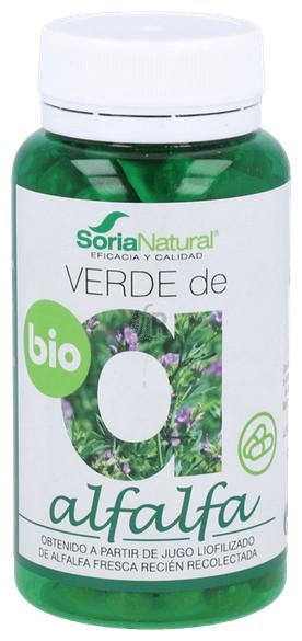Soria Natural Verde De Alfalfa 100 Comprimidos - Farmacia Ribera