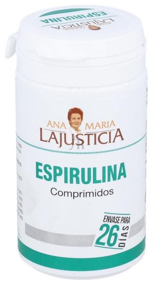 Spirulina 160 Comprimidos