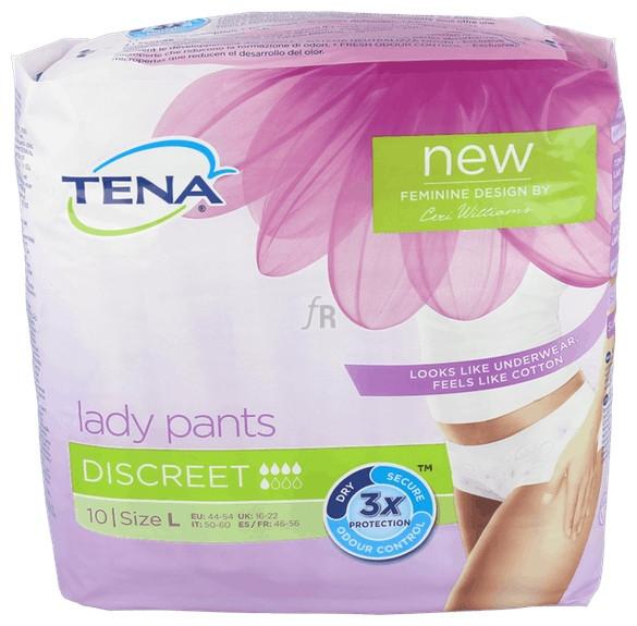 Tena Protect Underwear Discr T/Gde - Varios