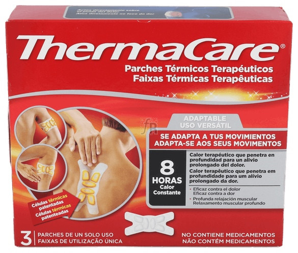 Thermacare Adaptable Parches Termicos 3 Parches - Pfizer