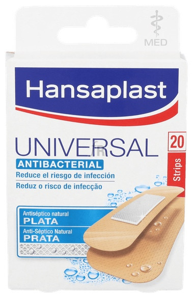 Tiras Adhesivas Hansamed Universal Plus Desinfec - Beiersdorf