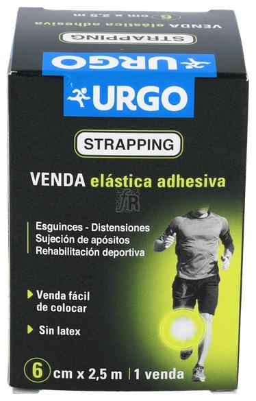 Urgostrapping Venda Elastica 2,5X6 Cm - Farmacia Ribera