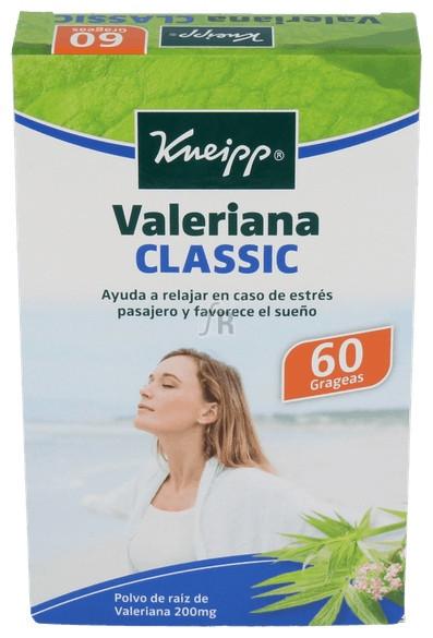 Valeriana Kneipp 60 grageas | Farmacia Ribera Online