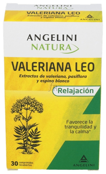 Valeriana Leo 20 Comprimidos