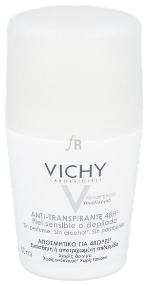 Vichy Desodorate Anti-transpirante Calmante 48h