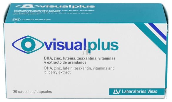 Visual Plus 30 Caps - Laboratorios Viñas