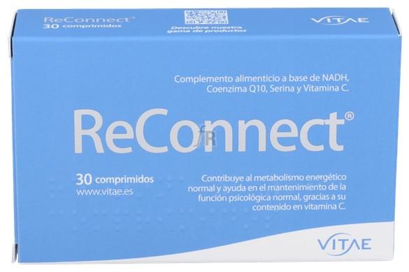 Reconnect 30 Comprimidos Viate - Farmacia Ribera