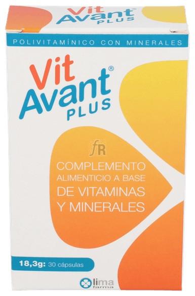 Vitavant Plus 30 Cápsulas - Farmacia Ribera