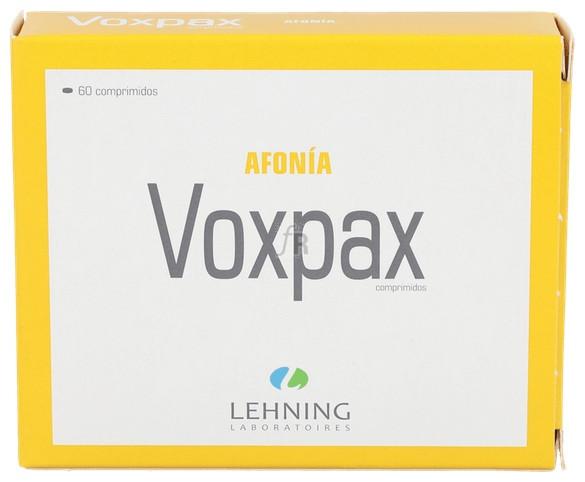 Voxpax 60 Comprimidos Lehning