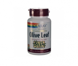 Solaray Olive Leaf 30 Cápsulas - Farmacia Ribera
