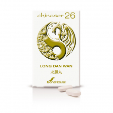 Soria Natural Chinasor 26 Long Dan Wan 30 Comp. - Farmacia Ribera