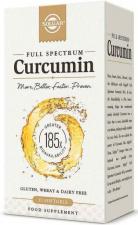 Full Spectrum Curcumina 30 Cap. Blanda - Solgar
