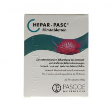 Hepar Pasc 60 Comprimidos Pascoe