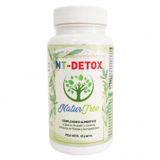 Natur Tree NT Detox 60 Cápsulas