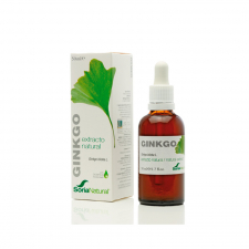 Soria Natural Ginkgo Gotas 50 ml. - Farmacia Ribera