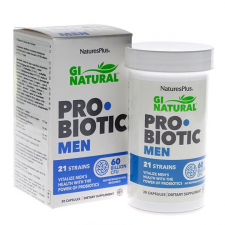 Nature's Plus Probiotic Men 30 Cápsulas