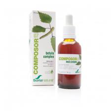 Soria Natural Composor 7 Betula Complex Gotas 50 ml. - Farmacia Ribera