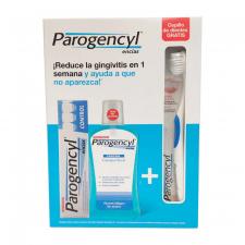 Parogencyl Pack Colutorio 500ml + Pasta 125ml + Cepillo - Farmacia Ribera