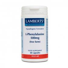 Lamberts L-Fenilalanina 500 Mg. 60 Comprimidos