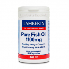 Lamberts Aceite Pescado Puro 1100 Mg 60 Capsulas