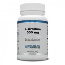 L-Ornitina 500 mg. 60 Cápsulas - Douglas