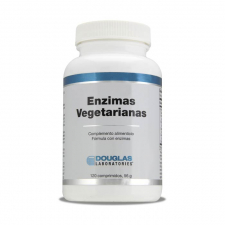 Douglas Enzimas Vegetarianas 120 Tabletas