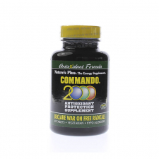 Commando 2000 60 Perlas Nature'S Plus