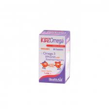 KidzOmega Cápsulasulas masticables 60 Cápsulas - Health Aid