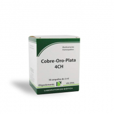 Cobre-Oro-Plata 4Ch 30 Ampollas Biotica