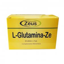 L-Glutamina-Ze Envase 30 Sobres 5 Gr. - Zeus