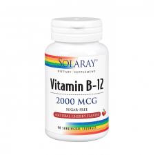 Solaray Vitamina B12 2000Mcg 90 Cápsulas