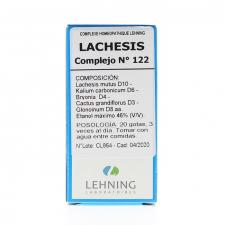 Lachesis N.122 Gotas 30 Ml Lehning