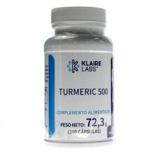 Turmeric 500 100 Cápsulas Klaire