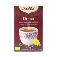 Yogi Tea Detox Bio Infusiones 17 Bolsitas