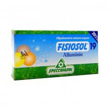 Fisiosol N.19 Aluminio 20 Ampollas Specchiasol
