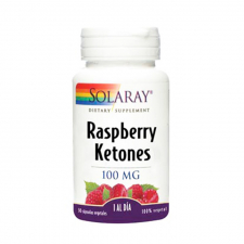 Solaray Raspberry Ketones 100 Mg 30 Cápsulas