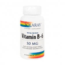 Solaray Vitamina B6 50 Mg 60 Cápsulas