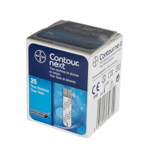 Bayer Contour Next 25 Tiras