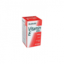 Vitamina E natural 400 UI 60 Cápsulas - Health Aid
