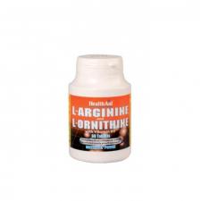 L-Arginina/L-Ornitina 600 mg/300 mg 60 Comprimidos - Health Aid