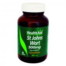 Hipérico (Hipericum perforatum) 500 mg 30 Comprimidos - Health Aid