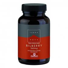 Mirtilo 360 mg (Vaccinium myrtillus)  50 Cápsulas - Terranova