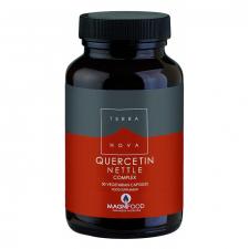 Quercitina-Ortiga Comprimidoslex 50 Cápsulas - Terranova