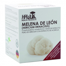 Melena de león (Hericium erinaceus) 60 Cápsulas - Hawlik
