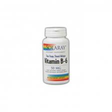 B6 50 Mg 60 Cápsulas Acción Retardada