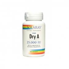 Solaray Emulsied Dry Vit. A 25.000 Ui 60 Cápsulas