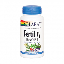 Solaray Fertility Blend 100 Cápsulas Vegetales